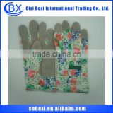 Comfortable acrylic/cotton/polyester/nylon/nitrile/custom safety gloves,polyester cotton yarn glove