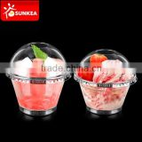 Small 50ml, 200ml disposable plastic ice cream / salad cup                                                                         Quality Choice