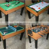 4 in 1 Table Game Set including football/pool table /Air hockey /Pingpong game