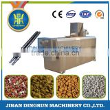 dry dog food machine / pet dog fish cat food extruder plant