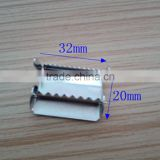 China supply webbing metal strap clip adjustable buckle for wholesale