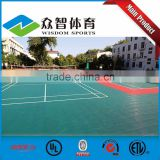 Best price Antislip Colorful badminton court flooring material for indoor