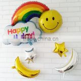 2015 hot sale cloud shape foil /mylar balloon for Valentine's Day ,party /weeding Party/ flower shape balloon