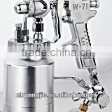 New Nozzle size:0.7mm with Pressure gauge and 400ml Die-cast aluminum cups siphon spray gun Earlex air suction gun