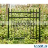 Aluminum gate, main gate,decorative garden gate G100HSR-72H-60W