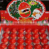 2014 Hot Selling Light Up Ink Santa Claus Head Stamp,Toy stamp, Ink Pad Stamp With Light