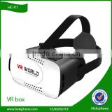 HC-V1 2016 Hot selling smartphones vr 3d glasses 3d vr headsets for open hot sexy girl video