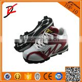 Safety baseball boots high top new design baseball shoes mid baseball mens baseball softball cleats spike speed trainer
