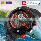 2016 fashion sport watches for men analog digital watch dual time zone cool digital watch