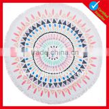Inexpensive custom design Hot sell cotton round beach towel                                                                                                         Supplier's Choice