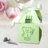 Lovely bear for baby shower party supplies, kids birthday party supplies favor boxes