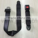 E-Mark certification 2-point seat belts with intermediate press buckle