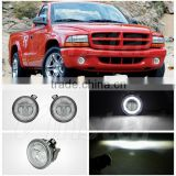 For Durango Fog light kits For Dodge 01-04 Dakota/01-03 Durango Bumper Driving Lamp 9CM Fog lamp for Dodge Dakota
