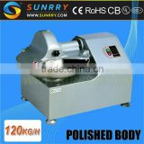 Food bowl chopper productivity 120kg/h chopper with bowl capacity 8L meat bowl chopper machine for CE (SY-FC8A SUNRRY)