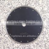 Turbo Saw Blade 10 inch (250 mm) Diamond Cutting Disc for Granite Marble Ceramic Tiles Porcelain Slates Thickness 2.8 mm