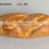 "2013Artificial Fruits 3.5*9"" Artificial Plastic Fake Bread Home Dining-Table Bakery Decoration"