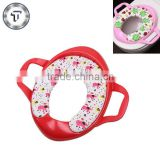 Soft sponge cushion baby closestool children's potty with handle