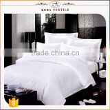 Professional factory 100% combed cotton fabric wholesale solid color cheap hotel bedding