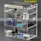 Best sell stackable containers, stackable storage bin, plastic stackable storage drawers
