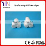 Free sample Elastic PBT Bandages manufacturer CE FDA