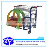 power-operated baby shopping trolley car