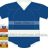 Sublimation ice hockey uniforms with brand tag