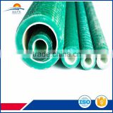 High tensile and shear strength fiber glass self-drilling rock bolts