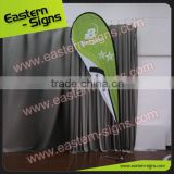 Custom Printing Avertising Beach Flag Teardrop Low Price Teardrop Feather Banners In China