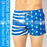 Domi hot sex image polyester pongee fabric fashion board shorts / stretch board shorts / crazy board shorts