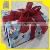 100% pure jute fabricl Burlap gift packaging