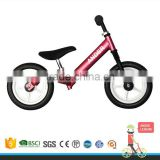 2017 factory direct sale kid no pedal bicycle walker balance bike