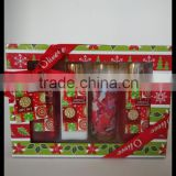 150ml shower gel, body lotion and bubble bath soap flower Christmas bath gift set