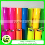 Colorful Fluorescence TPU heat transfer film for clothing