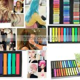 6/12/24/36 colors per set Temporary Color Hair Chalk In Gift Tin Ready colorful hair coloured hair chalk