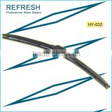 Multifit wiper blade HY-A8 with graphite coating wiper blade refills fitting windshield wiper motor