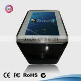 Wifi water-proofed 65 inch LCD interactive table kiosk with touchscreen