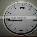 2014 NEW DESIGN Digital Radio Controlled metal wall Clock for Germany