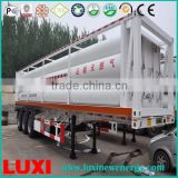 quality gas trailer 25MPa fuel tanker trailer , cng and hydrogen and helium jumbo tube trailer