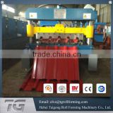 Construction machinery hydraulic color tile roof sheet rolling machine manufacturing aliuminum roof panel