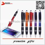 Promotional plastic touch screen branded stylus pen