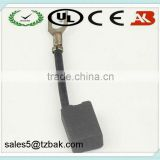Power tool parts carbon brushes for electric motors angle grinder