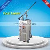 Treat Telangiectasis Metal Tube Scar Removal Cosmetic Warts Spot Scar Pigment Removal Removal Laser Machine Fractional Co2 Laser FDA Approved
