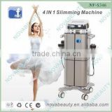 Hot Selling 2016 Amazon S346 100J 4IN1 Vacuum Cavitation System For Spa Ultrasound Therapy For Weight Loss