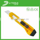 professional retractable stainless folding utility knife change blade