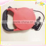 8m Retractable dog leash with rubber handles