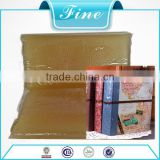 Animal safe jelly glue for book binding adhesive