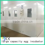 Dezhou cheap large capacity automatic 20000 eggs poultry incubator machine hatchery equipment for sale