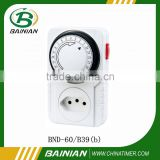 24 hour plug-in mechanical timer Brazil popular timer switch