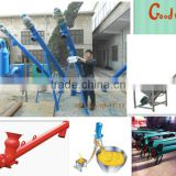 Tubular building materials conveying machine/flexible grain conveyor/pellet screw convey machine