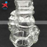 Manufacturers sell like hot cakes snowman glass lamp shade Incense glass chimney The candle lamp shade